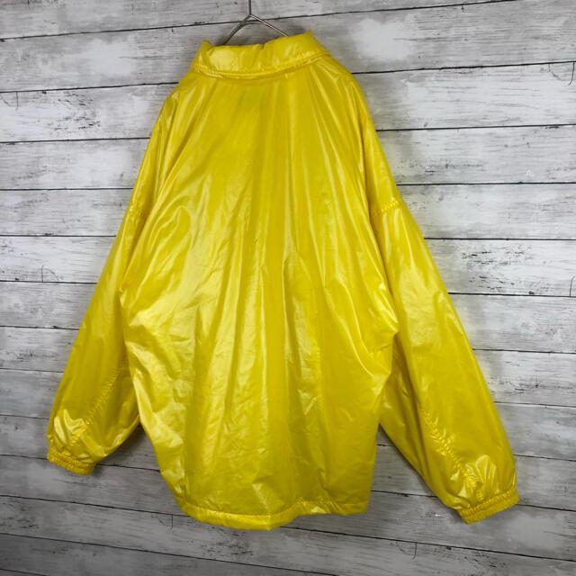 FILA(フィラ)の90.sフィラUS製 スイングトップ クレイジーカラーイエロー ピックロゴ入り メンズのジャケット/アウター(ナイロンジャケット)の商品写真