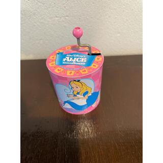 ディズニー(Disney)の東京ディズニーランド ふしぎの国のアリス 手巻き オルゴール レトロ(オルゴール)