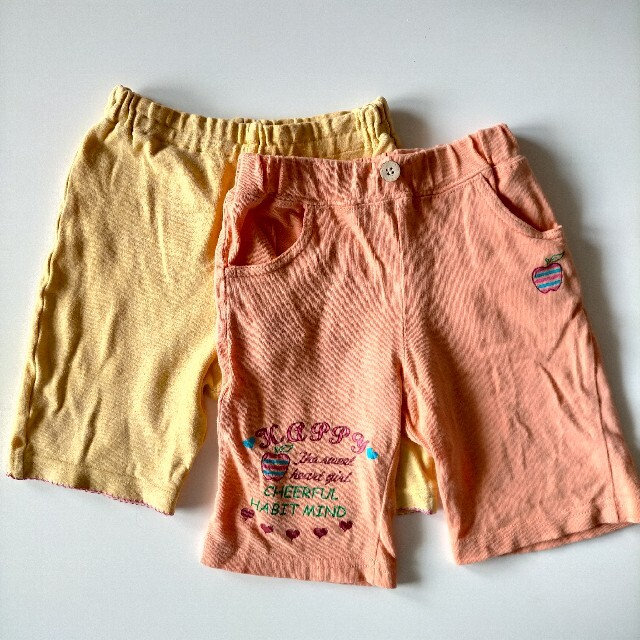 ハーフパンツ  ショートパンツ キッズ/ベビー/マタニティのキッズ服女の子用(90cm~)(パンツ/スパッツ)の商品写真