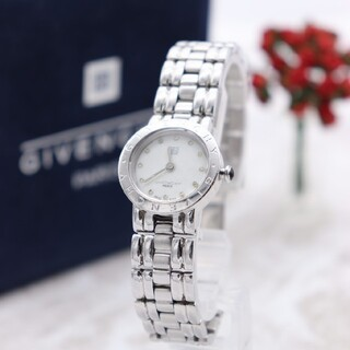 ジバンシィ(GIVENCHY)の正規品【新品電池】GIVENCHY/PARIS 1558962 シェル 動作品(腕時計)