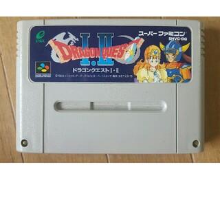 スーパーファミコン - ドラゴンクエストⅠ・Ⅱ スーパーファミコン