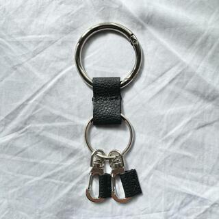 Hender Scheme - leather key ring 01