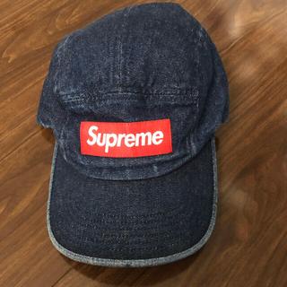 Supreme - Supreme デニム  キャンプキャップ