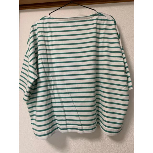 coen(コーエン)のCOENボーダーTEE Tシャツ レディースのトップス(Tシャツ(長袖/七分))の商品写真