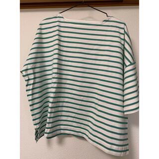 coen - COENボーダーTEE Tシャツ