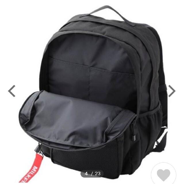 MILKFED.(ミルクフェド)のミルクフェド リュック レディースのバッグ(リュック/バックパック)の商品写真