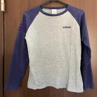アディダス(adidas)のアディダス レディースTシャツ(Tシャツ(長袖/七分))