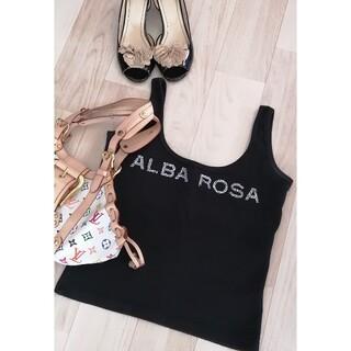 アルバローザ(ALBA ROSA)のアルバローザ タンクトップ トップス レディースファッション フリーサイズ(タンクトップ)