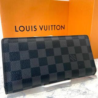 LOUIS VUITTON - 美品!ヴィトン ダミエグラフィット ブラザ 長財布