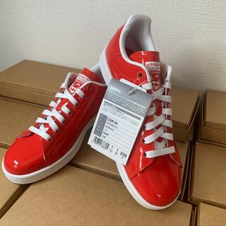 アディダス(adidas)の新品!アディダス スタンスミスW 23.5センチ  パテントレザー G28136(スニーカー)