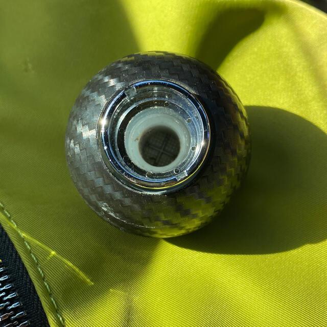 RAZO 丸型 カーボンルック シフトノブ  自動車/バイクの自動車(車内アクセサリ)の商品写真