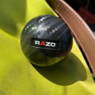 RAZO 丸型 カーボンルック シフトノブ