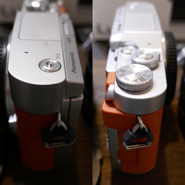 Panasonic(パナソニック)のなあ様専用ミックス gf9 GF9 オレンジ 保証有り シャッター数369回 スマホ/家電/カメラのカメラ(ミラーレス一眼)の商品写真