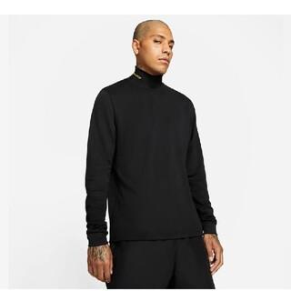 ナイキ(NIKE)のNIKE NOCTA ブラックモックネックトップ(Tシャツ/カットソー(七分/長袖))