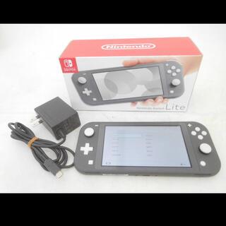 Nintendo Switch - Switch Lite 任天堂 スイッチ ライト グレー 本体