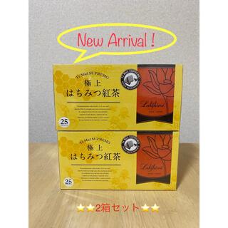 ㊗️即決新品✨ラクシュミー 極上はちみつ紅茶 ティーバッグ25袋入り×2箱(茶)