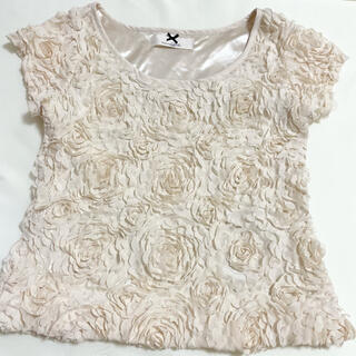 シュープリームララ(Supreme.La.La.)のシュープリームララ❤︎立体フラワートップス(Tシャツ(半袖/袖なし))