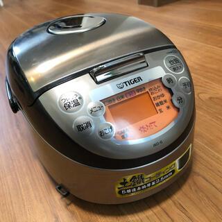 TIGER - タイガー 炊飯器 土鍋コーティング 3合 五層遠赤特厚釜