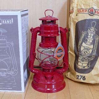 ペトロマックス(Petromax)のフュアーハンド ベイビースペシャル 276 ルビーレッド 赤 FEUERHAND(ライト/ランタン)