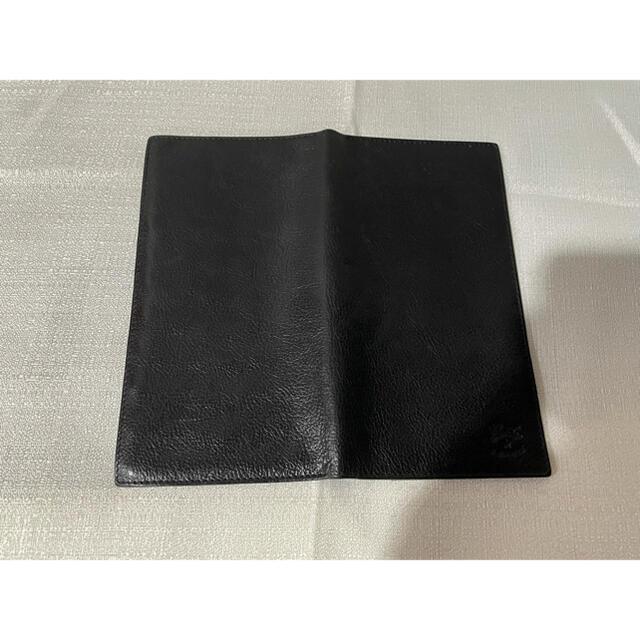 IL BISONTE(イルビゾンテ)のイルビゾンテの長財布札入れカード入れスリムメンズ本革レザー黒ブラック仕事ビジネス メンズのファッション小物(長財布)の商品写真