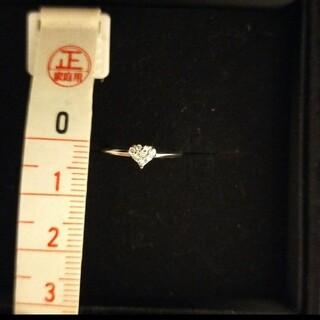 ヴァンドームアオヤマ(Vendome Aoyama)のヴァンドーム青山ハートピンキーリング ダイヤモンド1号(リング(指輪))