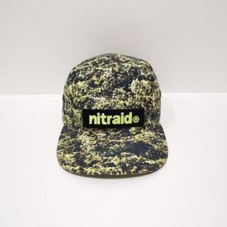 ナイトレイド(nitraid)のNITRAID ナイトレイド キャンプ CAP キャップ リアルウィード(キャップ)