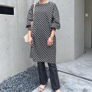 shenery シーナリー 刺繍チュニック ドレス