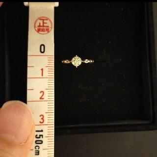 ヴァンドームアオヤマ(Vendome Aoyama)のヴァンドーム青山 ピンキーリング K18 YG ダイヤモンド 1号(リング(指輪))