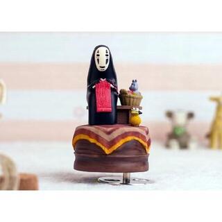 カオナシ男オルゴール日本和小樽女誕生日プレゼントクリスマスプレゼント(楽器のおもちゃ)