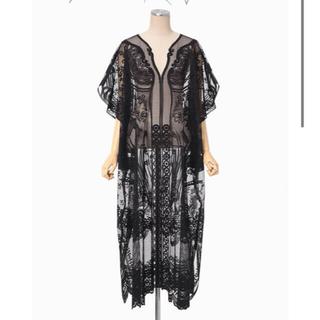 マメ(mame)の新品未使用 21SS mame Curtain Lace Dress (ロングワンピース/マキシワンピース)