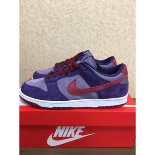 NIKE DUNK LOW SP PLUM 27センチ(スニーカー)