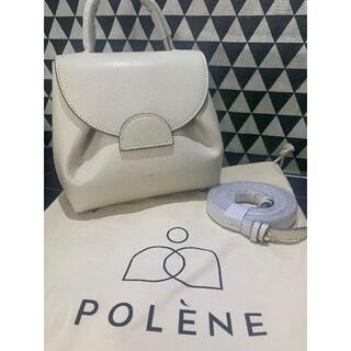TOMORROWLAND - POLENE ハンドバッグ  オフホワイト