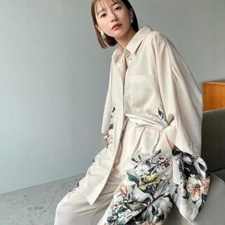 STUDIOUS - 定価以下【新品】CLANE PANEL FLOWER SHIRT シャツ