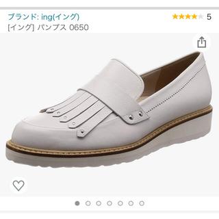 イング(ing)のing フリンジ ローファー(ローファー/革靴)