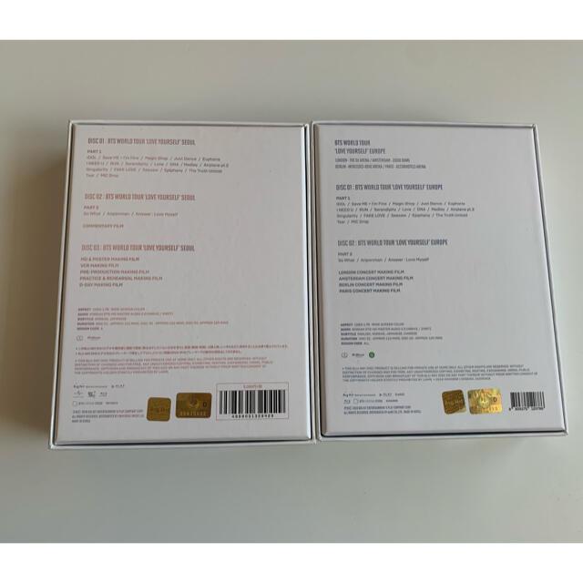 防弾少年団(BTS)(ボウダンショウネンダン)のLoveYourself Blu-ray Seoul & Europe エンタメ/ホビーのCD(K-POP/アジア)の商品写真