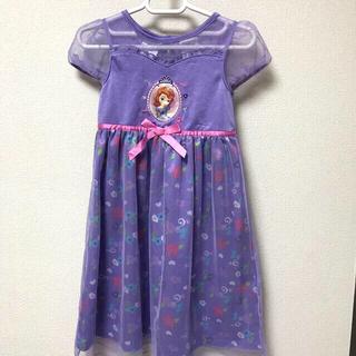 ディズニー(Disney)の子供服 女の子 ディズニー プリンセス ソフィア ワンピース ドレス(衣装)