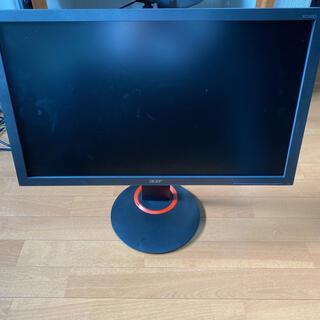 エイサー(Acer)のacer XF240Q ゲーミングモニター ジャンク(ディスプレイ)