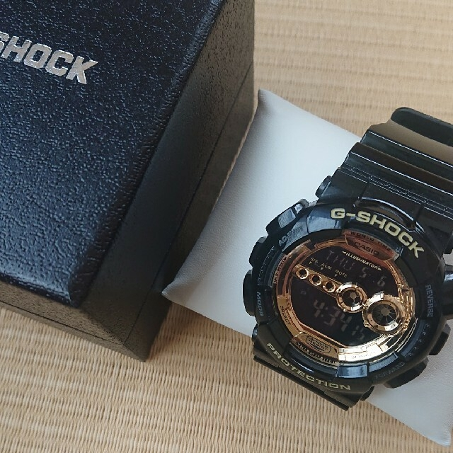 G-SHOCK(ジーショック)のカシオ] CASIO 腕時計 G-SHOCK ジーショック Black×Gold メンズの時計(腕時計(デジタル))の商品写真