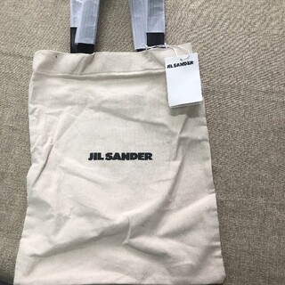 Jil Sander - 新品未使用 JIL SANDER キャンバス トートバッグ