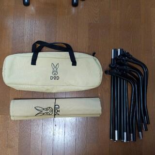 ドッペルギャンガー(DOPPELGANGER)のDOD バッグインベッド ベージュ コット(寝袋/寝具)