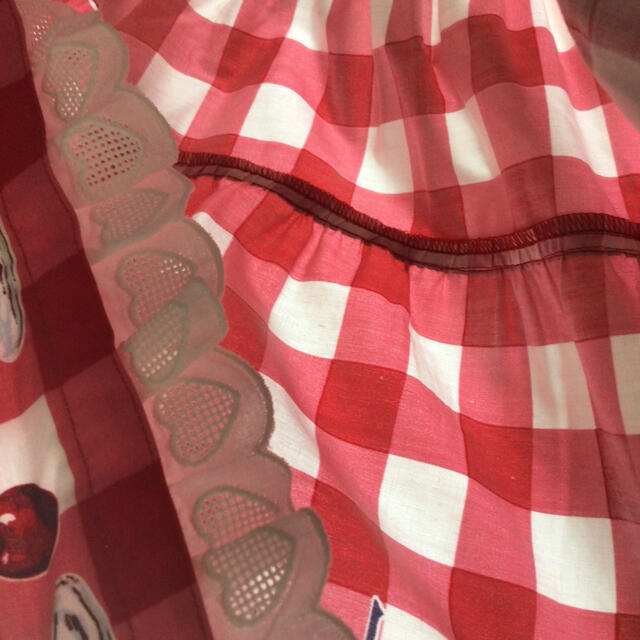 "Shirley Temple(シャーリーテンプル)のシャーリーテンプル単店舗限定""パフェプリント別注カラーサンドレス""140 キッズ/ベビー/マタニティのキッズ服女の子用(90cm~)(ワンピース)の商品写真"