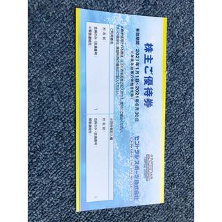 セントラルスポーツ株主優待券一枚 送料無料(フィットネスクラブ)