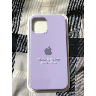 Apple - iPhone 12/12 Pro Silicone Case (パープル)