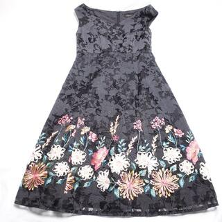 TOCCA - TOCCA ワンピース レディース ブラック/花柄刺繍