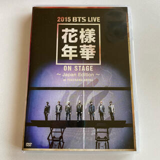 防弾少年団(BTS) - 2015 BTS LIVE<花様年華 on  stage> DVD 美品