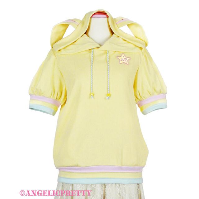 Angelic Pretty(アンジェリックプリティー)のAngelic Pretty カラフルStarパーカ レディースのトップス(パーカー)の商品写真