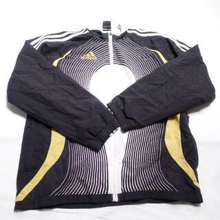 アディダス(adidas)のadidas ブルゾン メンズ ブラック/ホワイト(ブルゾン)