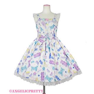 アンジェリックプリティー(Angelic Pretty)のangelic pretty Jelly Candy Toysジャンパースカート(ひざ丈ワンピース)