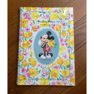 ディズニー(Disney)のミッキー リングノート(ノート/メモ帳/ふせん)