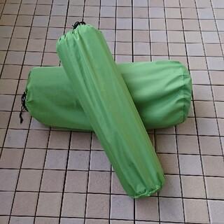 コールマン(Coleman)のコールマン インフレーターマット ダブル シングル セット(寝袋/寝具)